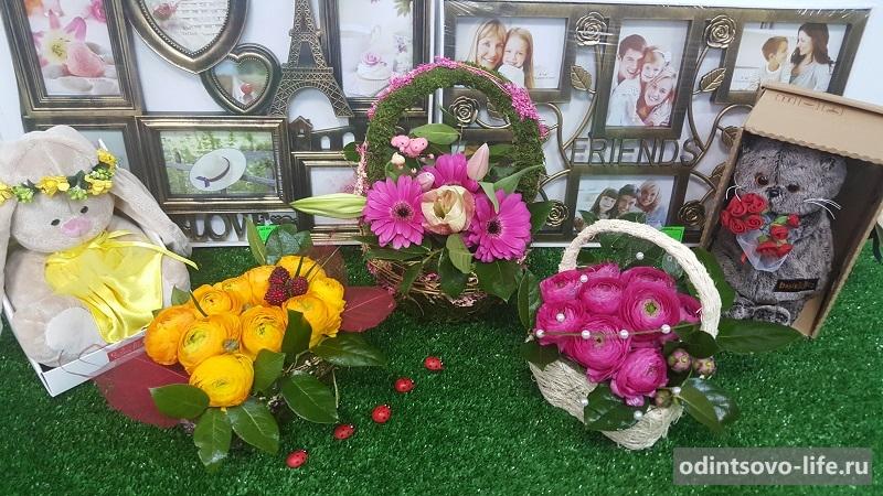 цветы в Голицыно