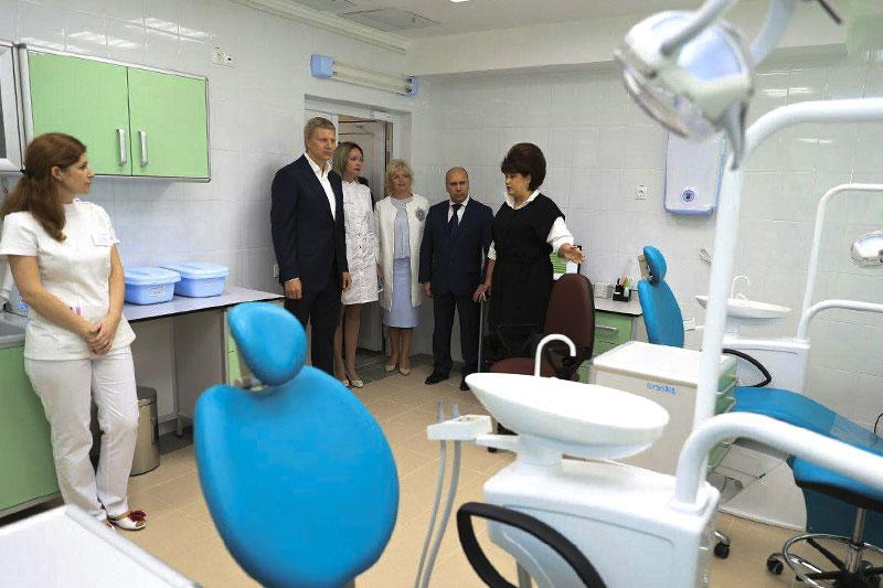 Объединение больниц в Одинцовском районе
