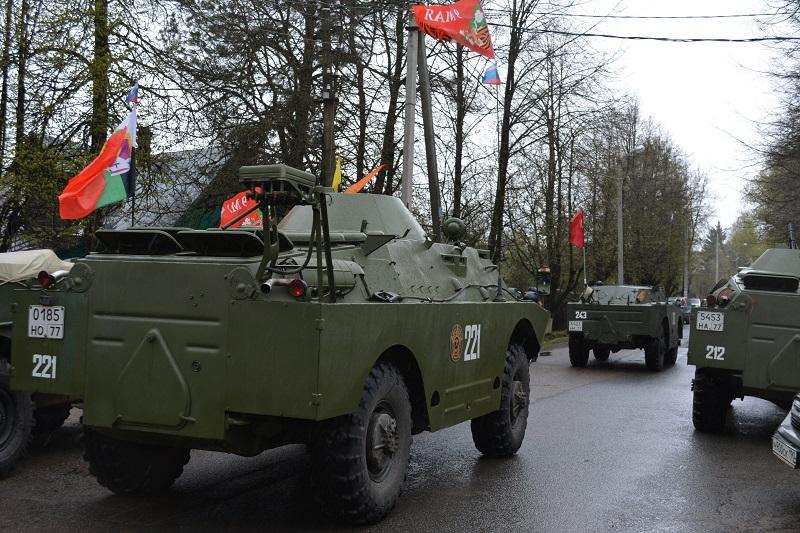 Парад военной техники в Голицыно