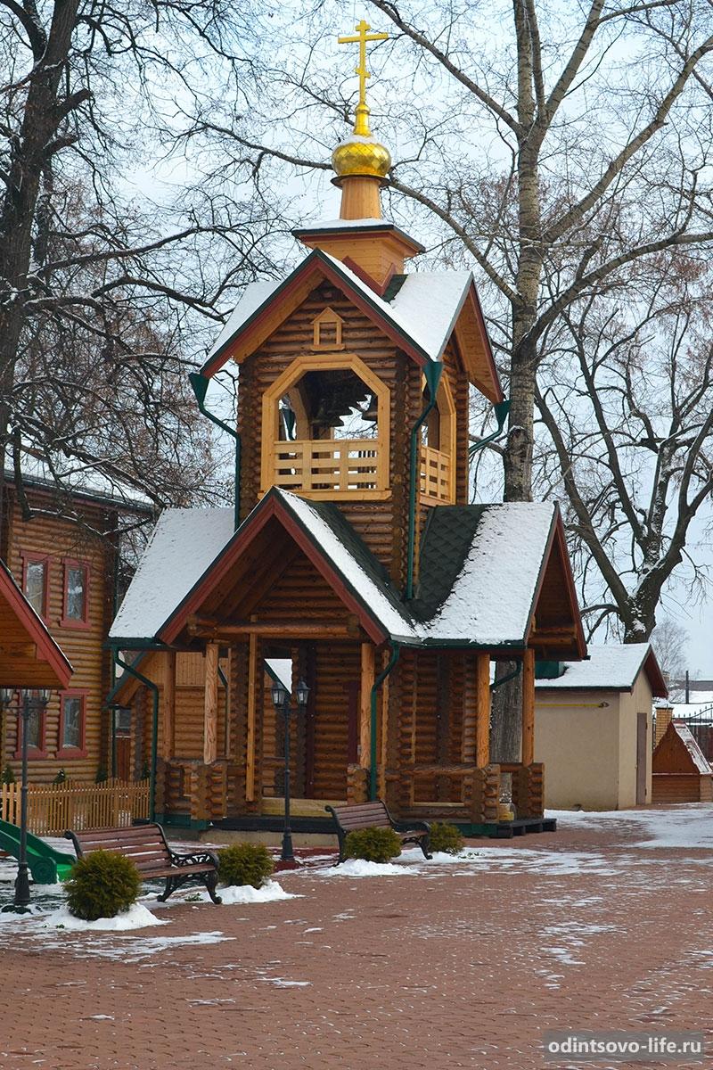 деревянная церковь в Жаворонках