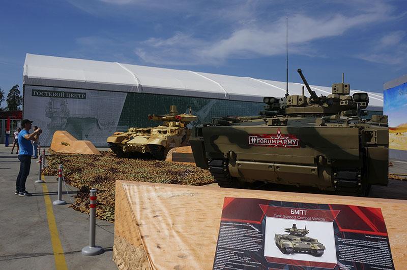 военный форум Армия в Кубинке
