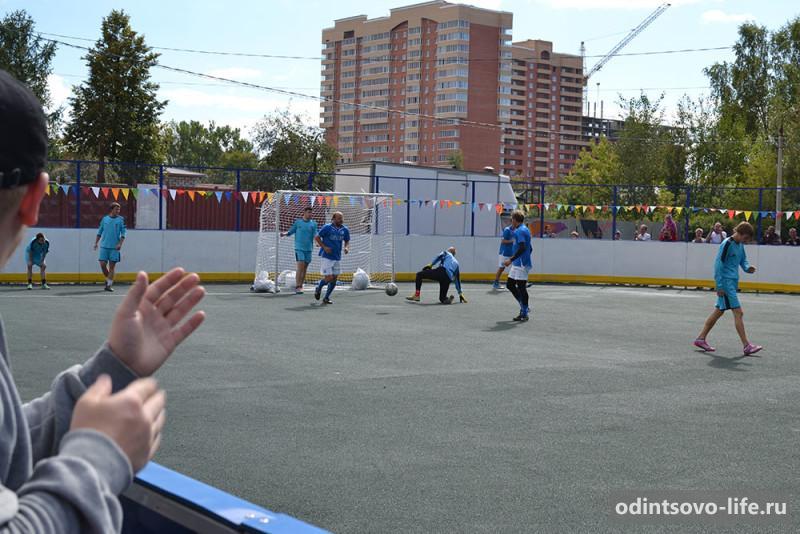 матч ветеранов футбола в Голицыно