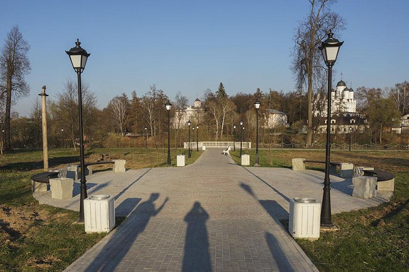 Парк героев в Голицыно