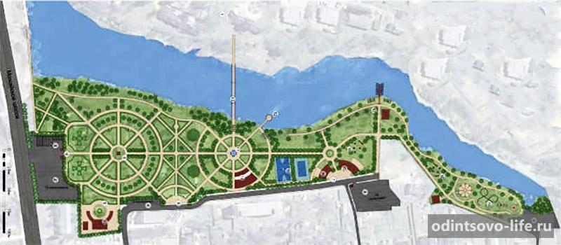 парк героев 1812 года в голицыно