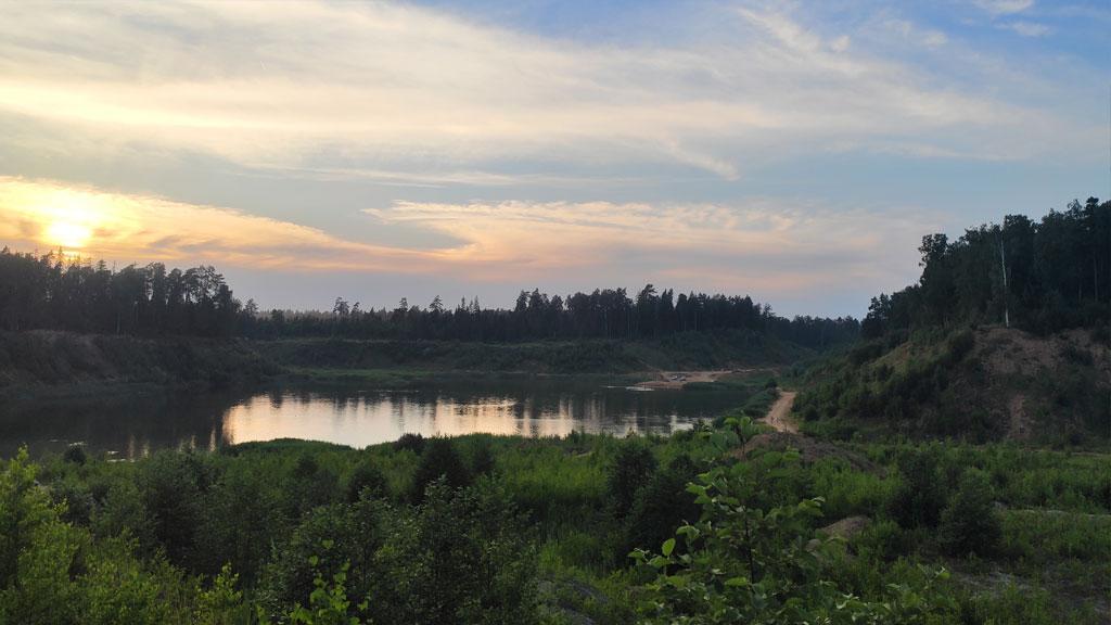 Рыбалка на Шараповском карьере
