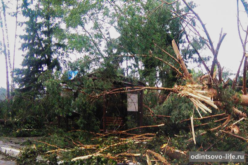 ураган в Одинцово