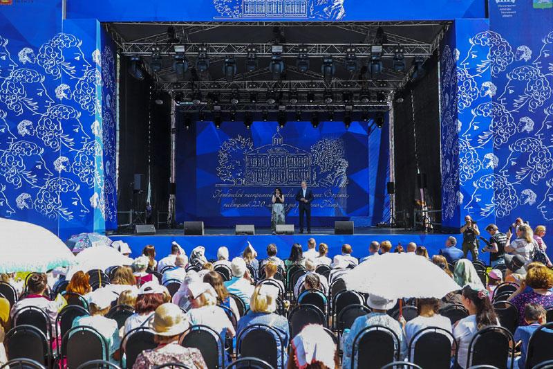 Пушкинский праздник в усадьбе Вяземы