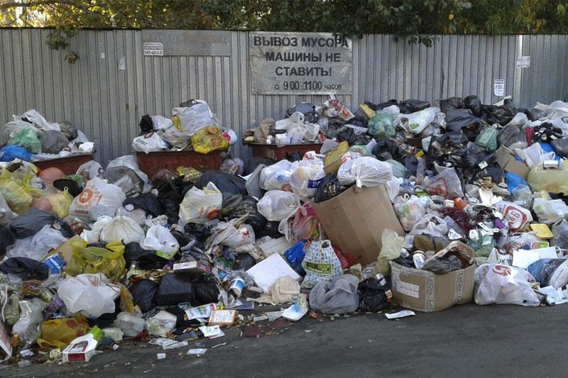 невывоз мусора в Одинцовском районе